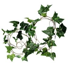 9ft Artificial Fake Faux Ivy Vine Plant Garland,Sweet potato leaves Gift B4M7