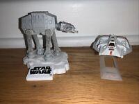 Hot Wheels Disney Star Wars AT-AT Walker vs REBEL SNOWSPEEDER 2 Pack New Toy