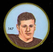 1963 CFL NALLEY'S FOOTBALL COIN #147 PAT CLARIDGE B C LIONS EX-NM
