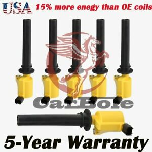 High performance Ignition Coil 6Pc for Ford Escape Mercury Mariner Mazda V6 3.0L