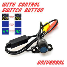 170°ON/OFF Car Backup Camera Button Control Front /Rear View NTSC/PAL Guide Line