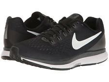 Nike Air Zoom Pegasus 34, Women Sizes 8.5-9-10 Wide, Black/White 880561-001 NEW!