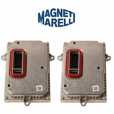 Audi A3 A4 Pair Set of 2 Xenon Control Unit Ballast OEM Magneti Marelli LRB370