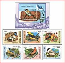 TOG9910 Birds 6 stamps and block MNH TOGO 1999