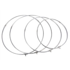 Stainless Steel Fishing Folding Net Brail Head Round Dipnet Tackle Accessory FT