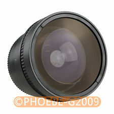 52mm 0.25x Wide FISH EYE Fisheye +12.5 MACRO LENS 52 mm