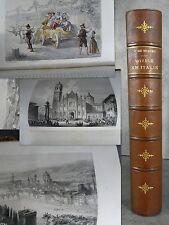 Musset Voyage en Italie Gravures hors texte splendides Firenze Venezia Gene etc