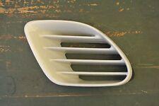 2003 Boxster Right Quarter Panel Vent Grill White