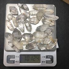 100g Natural Herkimer diamond end crystal Double-end specimen