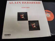 ALAIN BARRIERE<>SEDUCTION<>LP Vinyl~Canada Pressing<>ABL-7008 (BONUS 45 RPM)