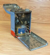 Vintage Genuine Optimus 80 Sweden Made Collectible Camping Stove in Blue Tin