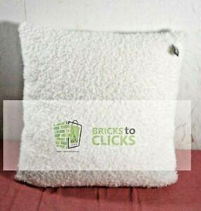 "Threshold- Euro Boucle Decorative Throw Pillow Cream, 24"" x 24"""