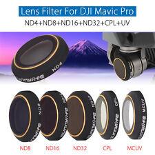 ND4 ND8 ND16 ND32 CPL UV Gimbal Camera Filter Lens Kit For DJI Mavic Pro Drone