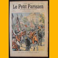 LE PETIT PARISIEN Supplément littéraire illustré Infanterie 13 septembre 1903