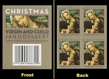 US 4815b Christmas Virgin & Child imperf NDC header block MNH 2013