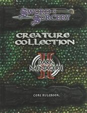 Sword and Sorcery - Creature Collection I and II - core rulebooks