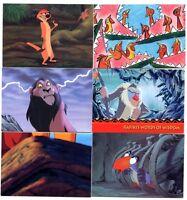 Lot de 6 CARTES du ROI LION SUPERBE N° RL028