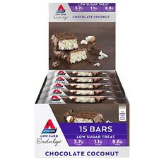 Atkins Endulge Chocolate Coconut Bar 40g X 15