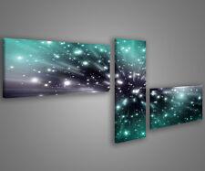 Quadri moderni astratti 180 x 70 stampe su tela canvas con telaio MIX-S_85