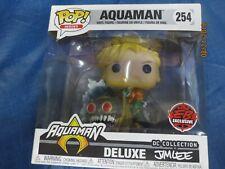 Funko Pop! DC AQUAMAN Vinyl Figure #254 Jim Lee Aqua Man EB GAMES EXCLUSIVE