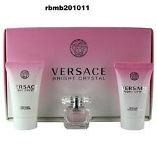 Versace Bright Crystal Women Mini Set - Bright Crystal Perfume+Lotion+Shower Gel