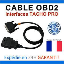Câble OBD2 de REMPLACEMENT - Compatible TACHO PRO Toutes Versions - DIGIPROG