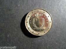 MALTE MALTA VF COIN, PIECE MONNAIE de 20 cts d' EURO 2008, TTB