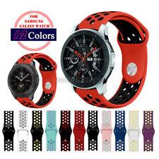 Silicone Sport Bracelet Wrist Watch Band Strap for Samsung Galaxy Watch 46mm/42