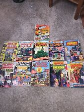 Marvel & DC Lot of 11 War Comic books Old G.I. Combat Sgt. Fury War is Hell