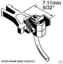 KDE17 Kadee OO/HO Gauge 17 NEM362 European Coupler Very Short 7.11mm (2pr)