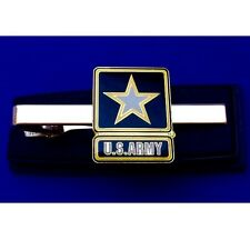 U.S. Army Tie Clip Army Tie Bar Military Tie Clasp Gift Idea
