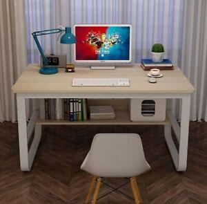 Computer Desk Laptop PC Desktop Table With Bookshelf Bookcase Kid Study 100CM UK
