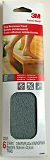 3M Safety-Walk Slip Resistant Precut Treads 6 Pack Indoor/Outdoor 9 in x 2 in Ea