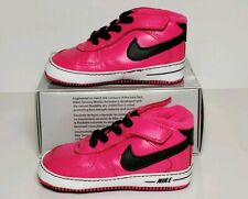 NIKE BABY FORCE 1 GIFT PAC ( CB) SIZE 4 CRIB SHOES NEW / BOX 325337 004