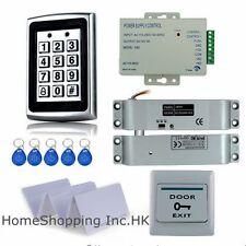 Metal RFID Card Security Door Access Control System+Drop Bolt Lock+10 RFID Cards
