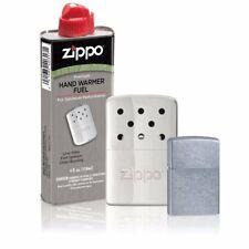 Zippo 40351, 6 Hour Hand Warmer Gift Set, With Street Chrome Lighter