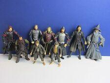 LOTR Le Seigneur des anneaux figurine Aragorn Gimli Sam Gandalf Boromir Lot g95