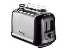 Moulinex LT 2618 Toaster Subito Edelstahl mit Brötchenaufsatz LT2618