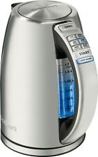 CuisinartCpk-17 PerfecTemp Cordless Electric Kettle - Silver
