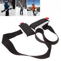Portable Ski Pole Snowboard Bag Ski Snowboard Shoulder Carrier Lash Handle Strap