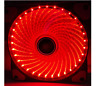 needcool GI 3 pin 120mm 12cm Rojo 32 LUCES LED Ultra Silent Caja Ventilador para