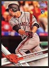 2017 Topps Update AUSTIN SLATER RC #US126 San Francisco Giants Rookie NM QTY