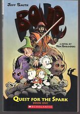 JEFF SMITH'S BONE NOVEL VOL 1 QUEST FOR THE SPARK  DIGEST SOFTCVR GN TPB NEW