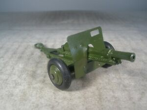 Dinky Toys Military Army 18 POUNDER GUN #162C OUTSTANDING