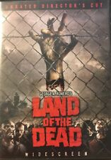 Land of the Dead (DVD, 2005, Unrated Directors Cut Widescreen)     FREE SHIPPING