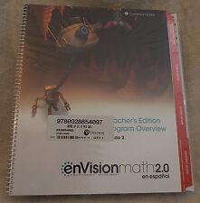 enVision Math 2016 Spanish Teacher Edition Package Grade 2 9780328854097 3 vol