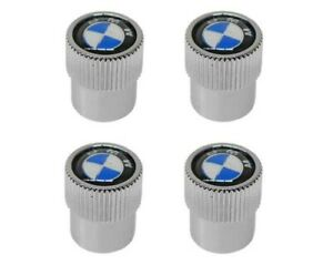 Genuine OEM Tire Valve Stem Cap Set for BMW 36110421544