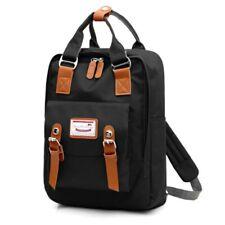 Nylon Woman School Backpack Girl Student Bag USB Charging Anti-theft Rucksack