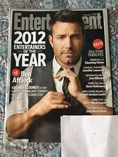 Entertainment Weekly Magazine #1236 December 2012 Ben Affleck