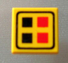 LEGO 3070bp06 @@ Tile 1 x 1 Red Black Buttons Pattern @@ 735 6175 6195 6987